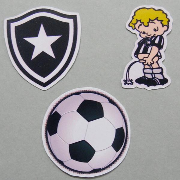 51d1c6a925 Apliques Adesivos Futebol Botafogo no Elo7