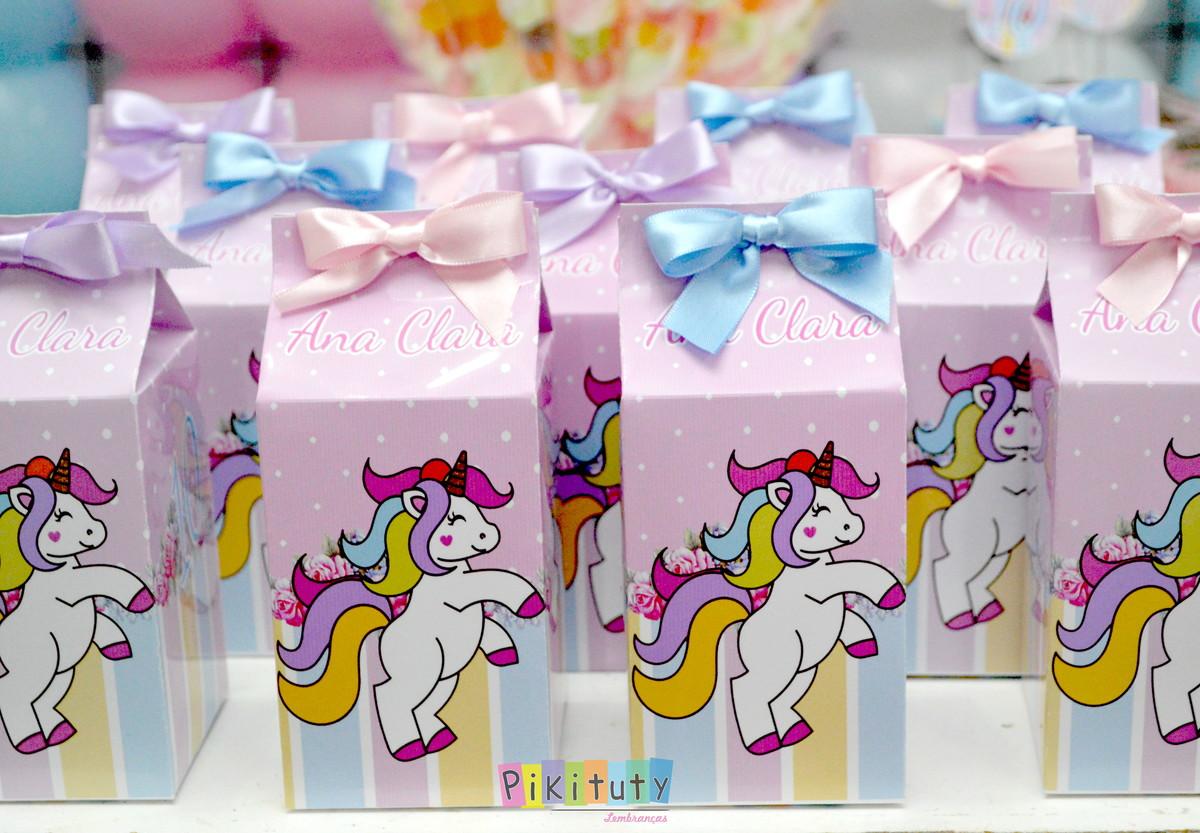 Bolsinhas feitas com caixa de Leite, ótimo para lembrancinhas de festa!!!