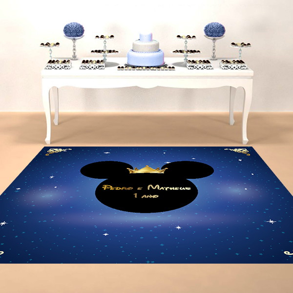 tapete para festa infantil mickey no elo7 mew festa infantil 9f658e. Black Bedroom Furniture Sets. Home Design Ideas