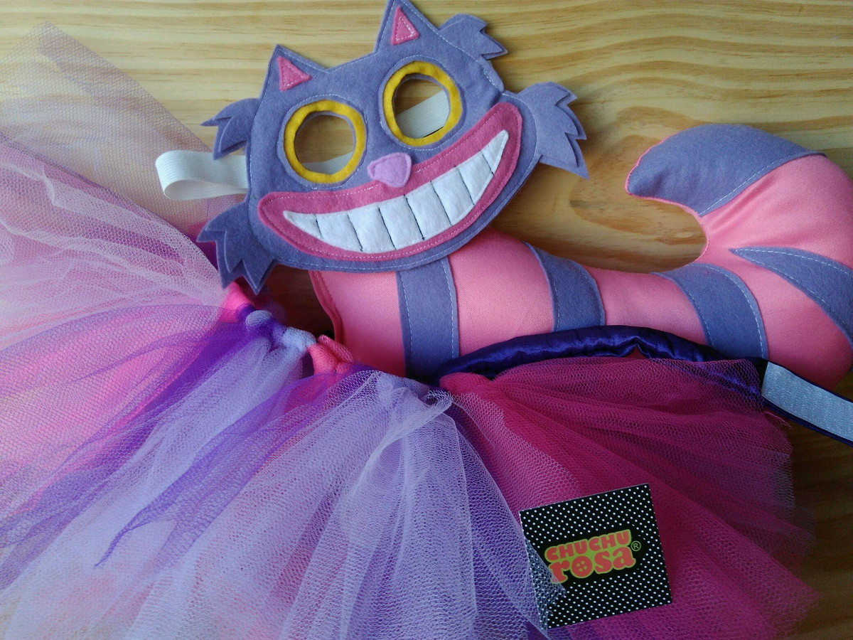 66ee0bd9f585eb Fantasia Gato da Alice com Tule