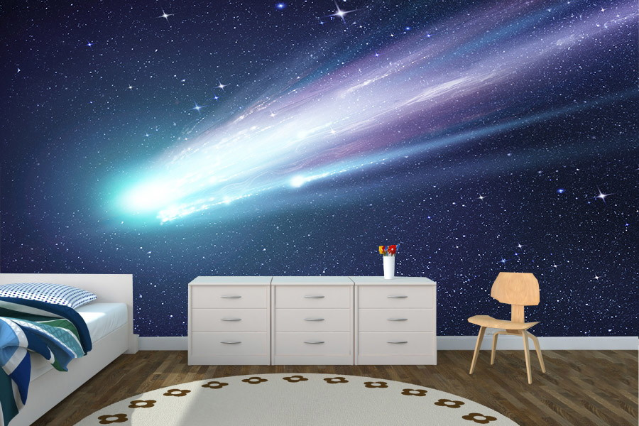 Painel galaxia aarte decoor elo7 for Zoom room design