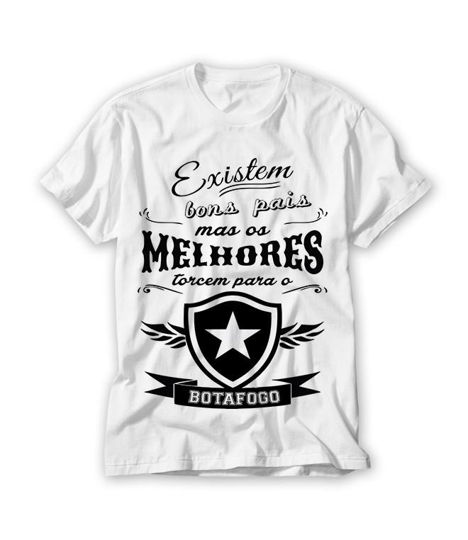 758bc9e00b Camiseta Existem Bons Pais no Elo7
