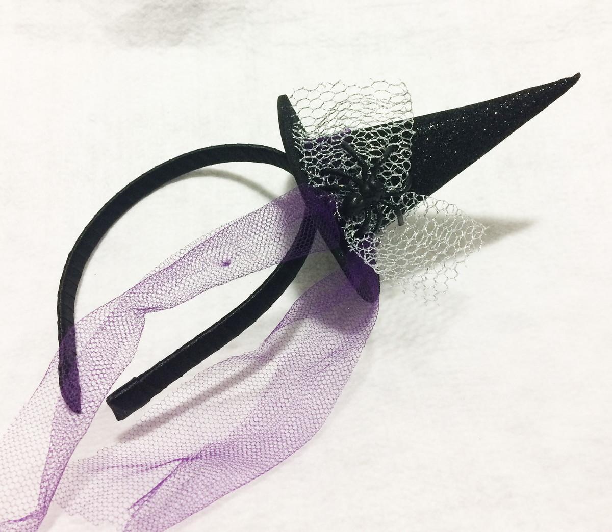 Tiara chapéu de bruxa brilhante no Elo7  ffc98a4c5da