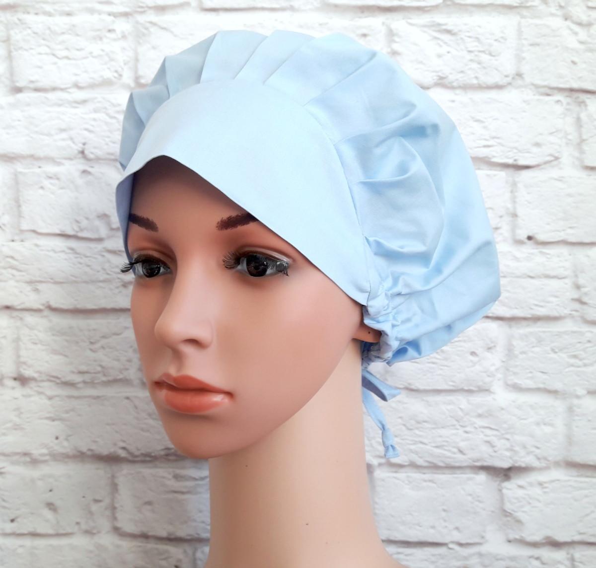 ea35822832e15 Touca Cirúrgica Feminina Ajustável no Elo7