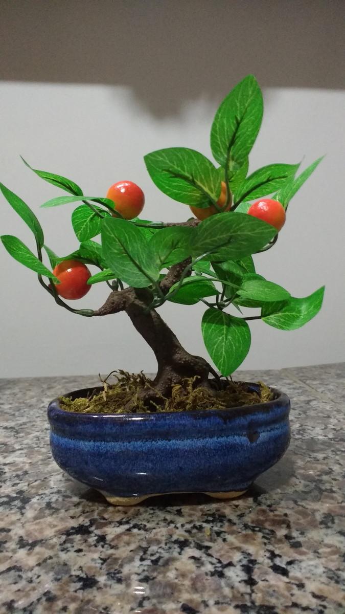Bonsai Fruta L Artificial No Elo7 Giardinato A00694