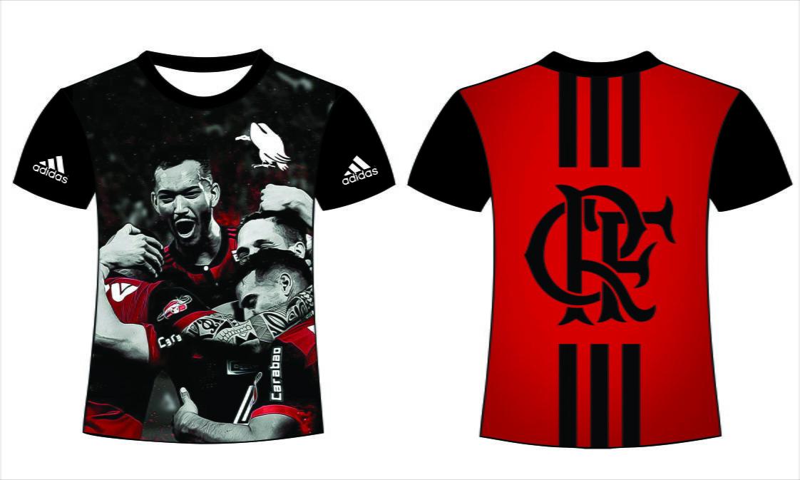 e757288cb0 Camiseta Sublimação Total Flamengo no Elo7 | Graph Center (A00BD5)