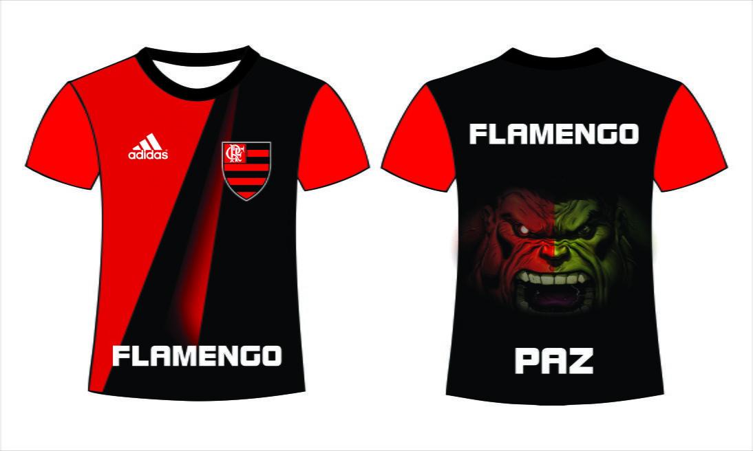 Camiseta Flamengo Hulk no Elo7  a89cefce1cf0e