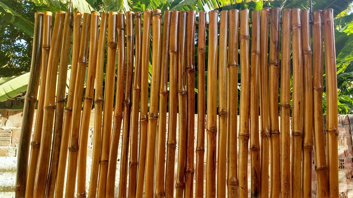 Famosos painel bambu /decoração bambu/esteira no Elo7 | AmBel Artesanato  WU79