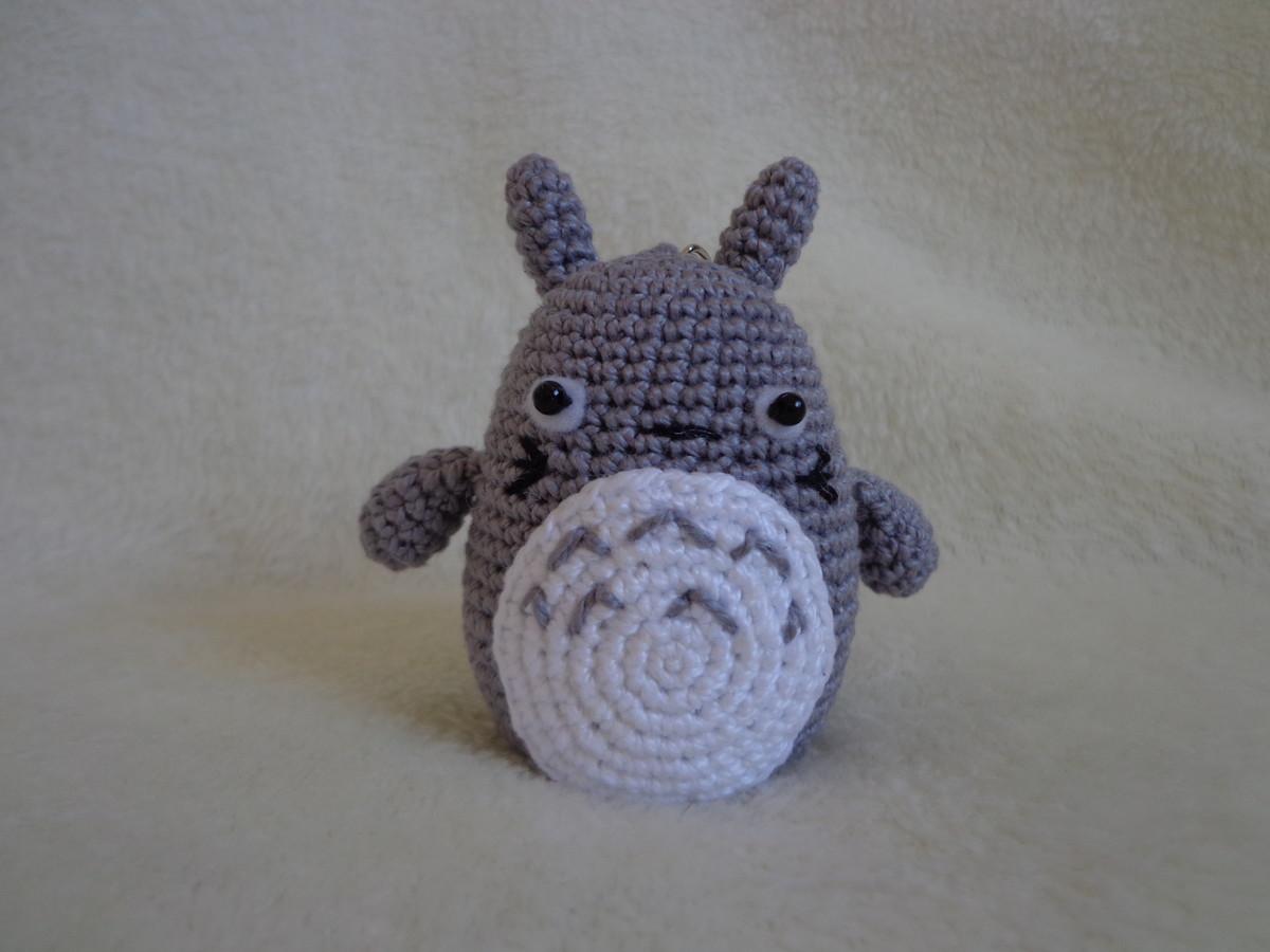 Totoro Azul Amigurumi : Totoro amigurumi chaveiro anime no elo leila amigurumi a d