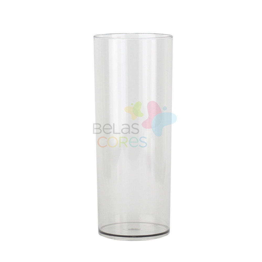 b7be41af7 25 Copos Long Drink Transparente no Elo7