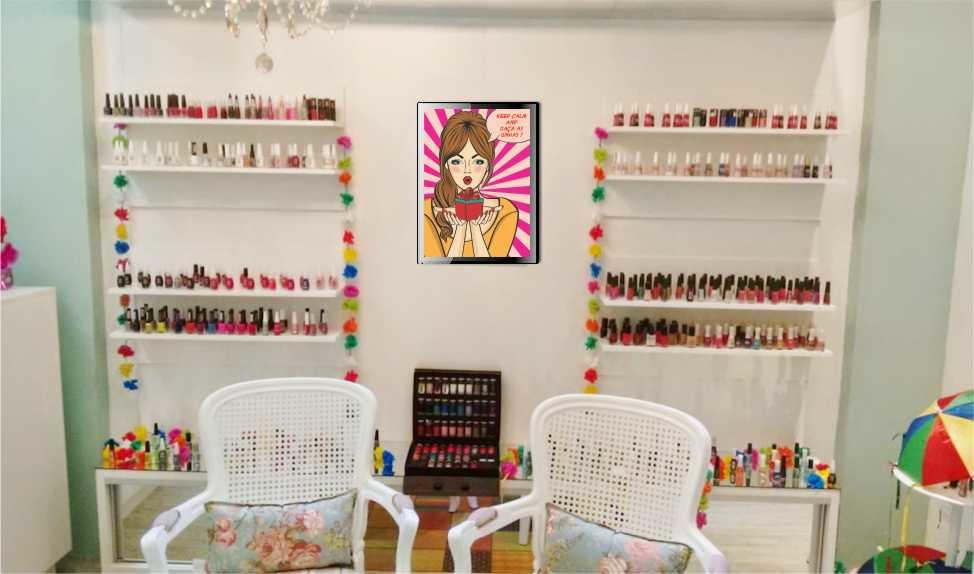 Super Poster decorativo para esmalteria manicure salão beleza no Elo7  UR39