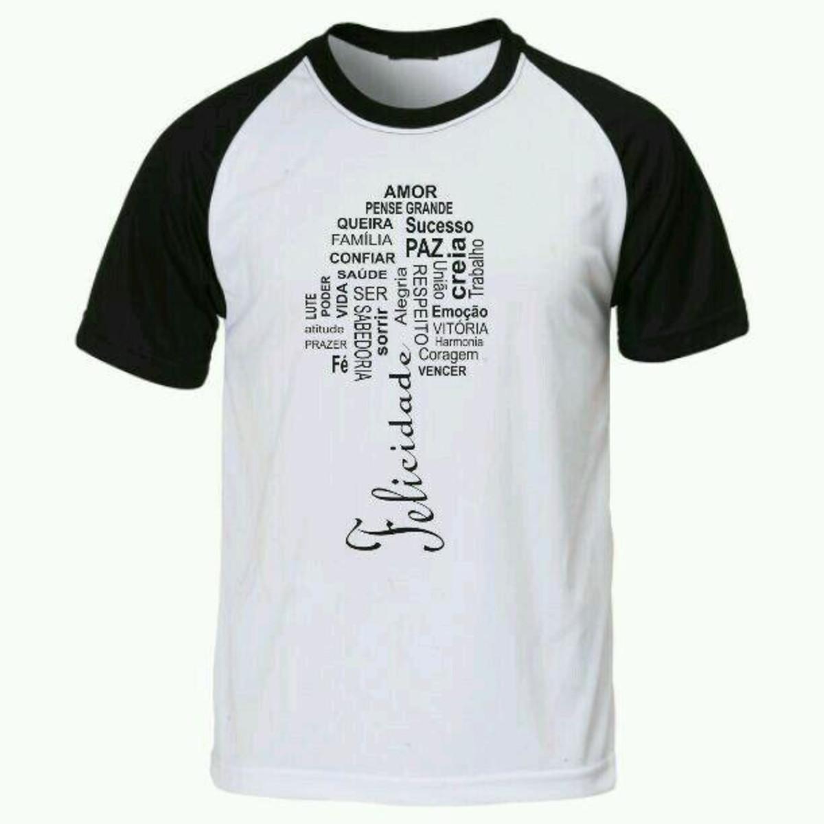 b5629e566 Camiseta com frases raglan no Elo7