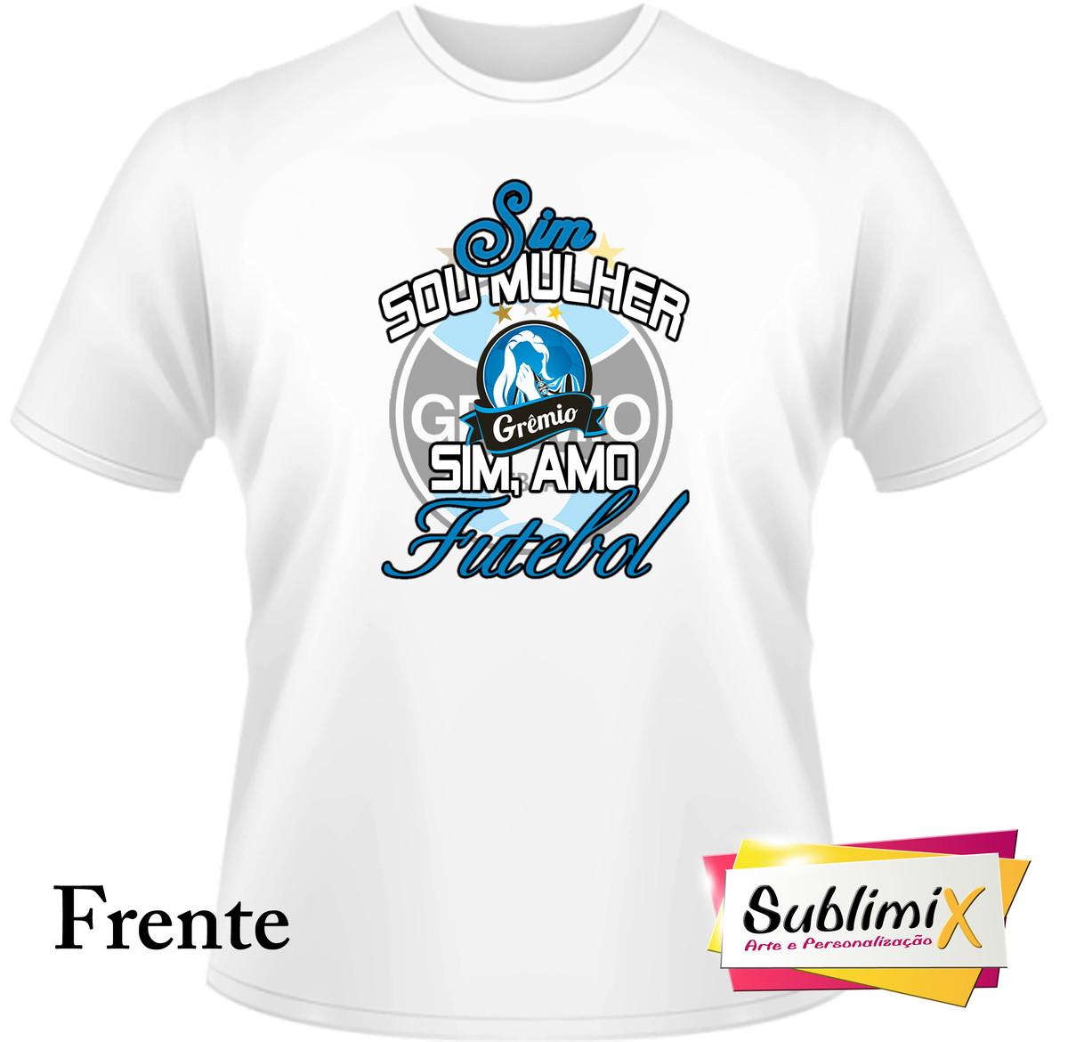 Camiseta poliéster Grêmio no Elo7  8b3317c95230f