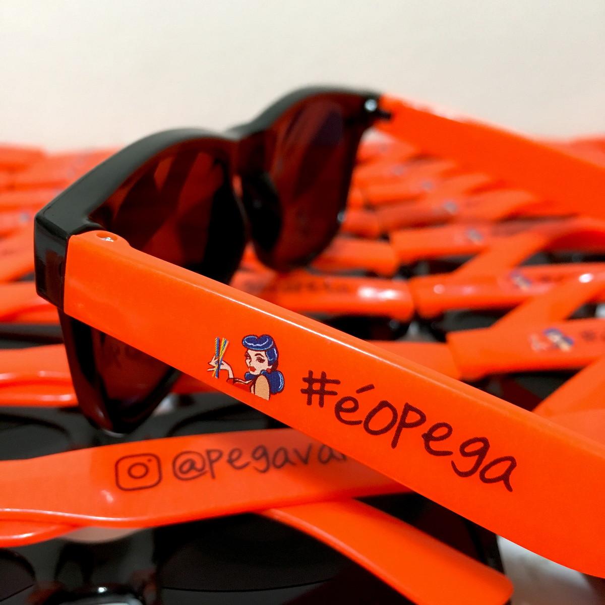 Óculos de Sol Personalizado Bicolor no Elo7   Sal e Pimenta ... ae6fa90c52