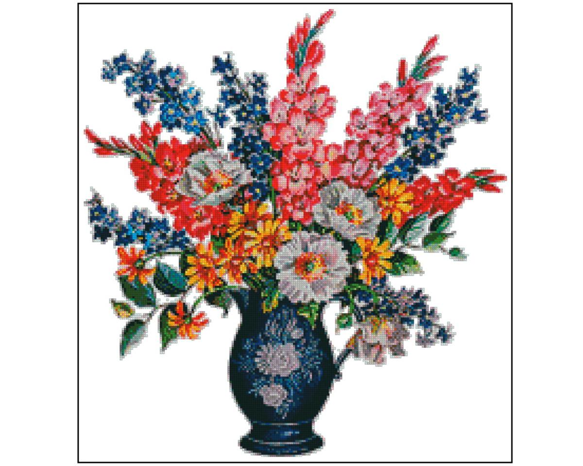 78d7a5fd5 Vaso de flores - Gráfico Ponto Cruz no Elo7 | Thimage - Gráficos de ...