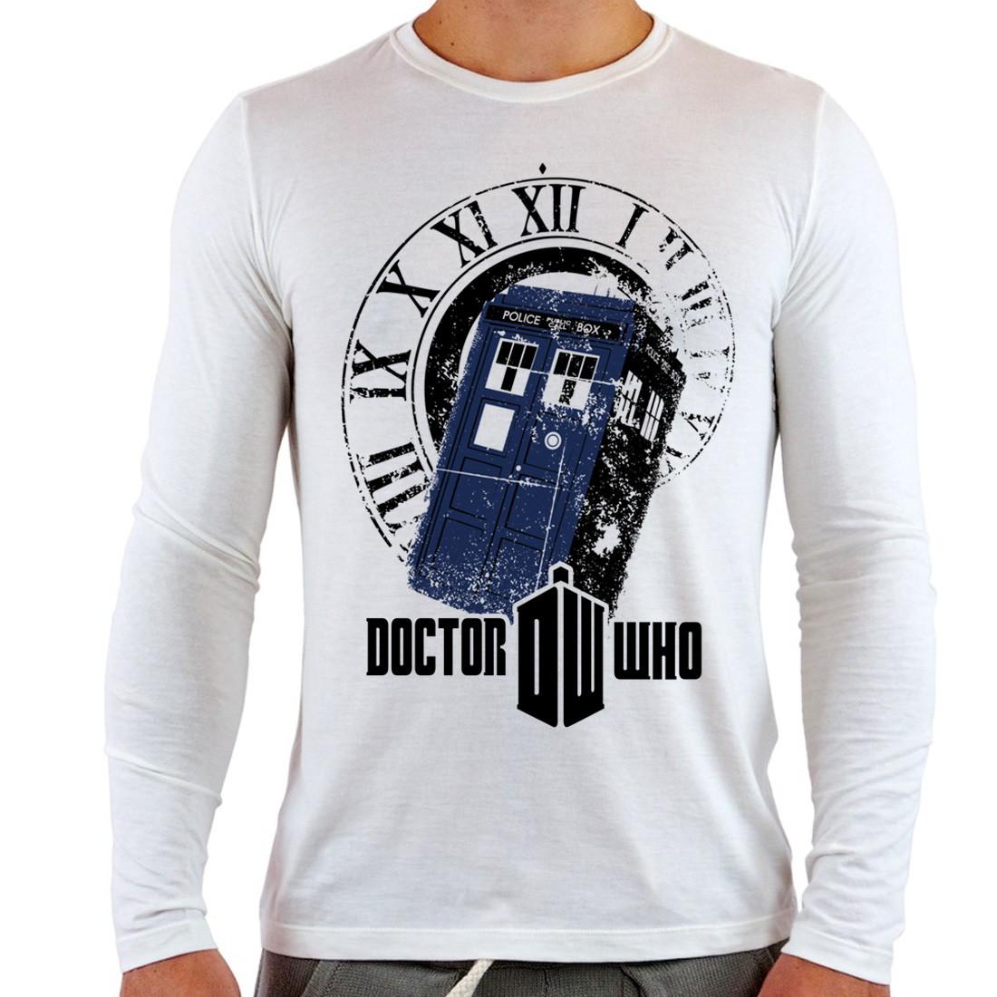 e4faab300 Camiseta Doctor Who Police Box Série no Elo7