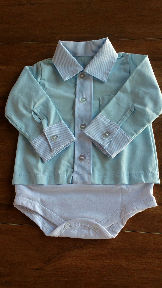 d78a51c35 Body Camisa para Bebê-
