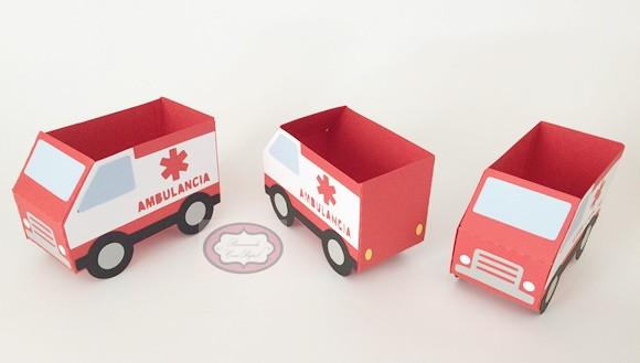 Carro De Ambulância No Elo7 Brincando Com Papel A1c5ef