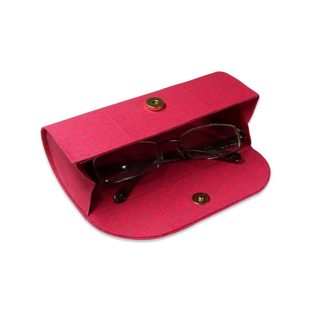 c8e8c90e1bf42 Porta Óculos Vermelho no Elo7