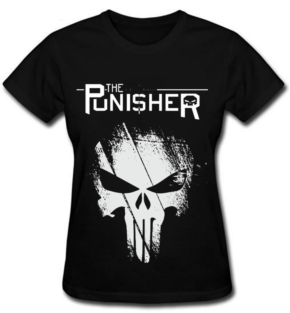 d83875e30 Camiseta O Justiceiro Feminina Skull police militar punisher no Elo7 ...