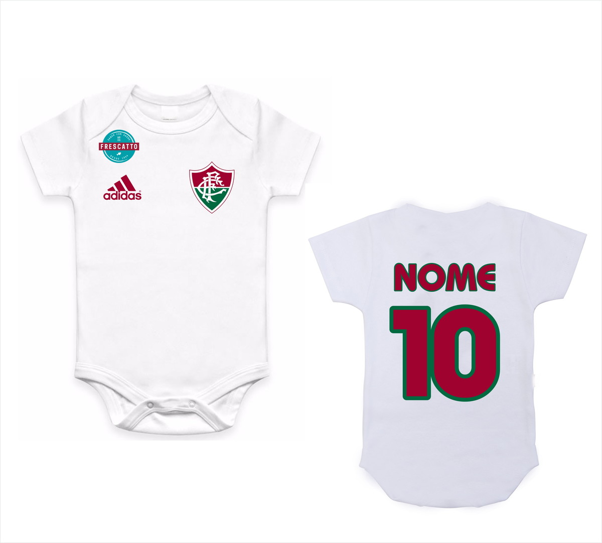 Body de time com nome - Fluminense no Elo7  4e3c730017bfb