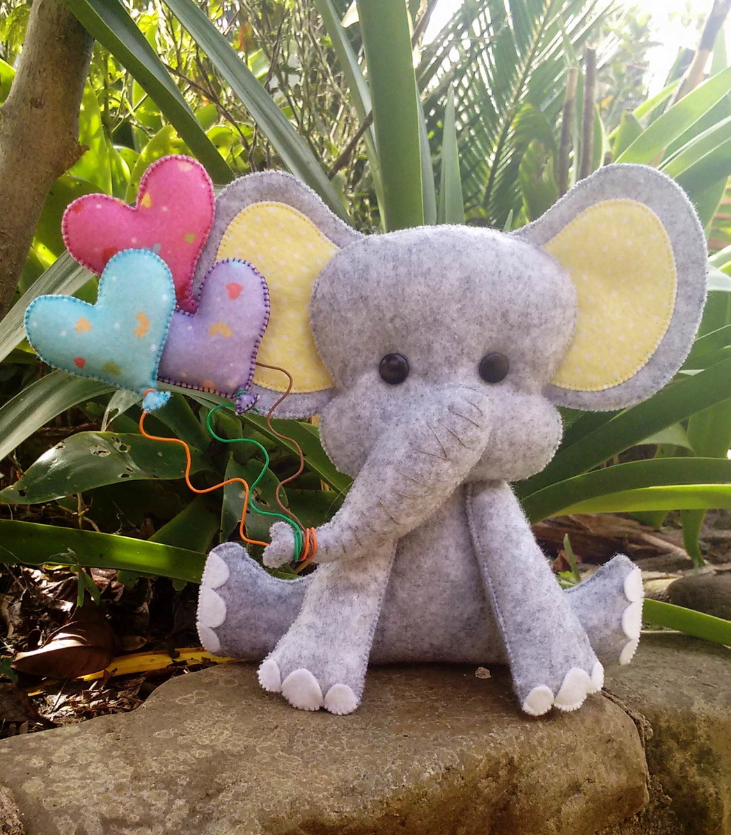 elefante fofinho no elo7 mamÃe ninja by mi pruss a2176d
