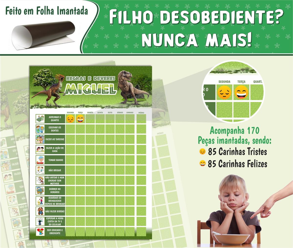 Well-known Quadro de Rotina no Elo7 | Decorar e Crescer (A22223) CO65