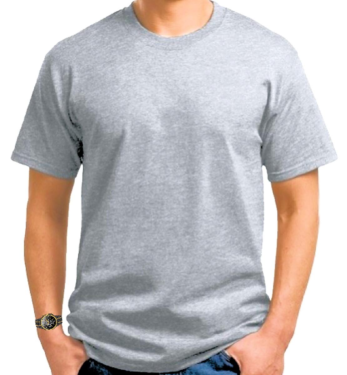 f36cb5afd8 50 Camisetas 100% poliéster Mescla no Elo7
