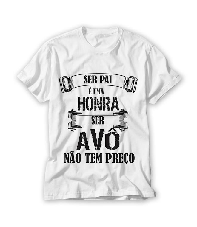 38cf572840 Camiseta Ser Avô Não Tem Preço no Elo7