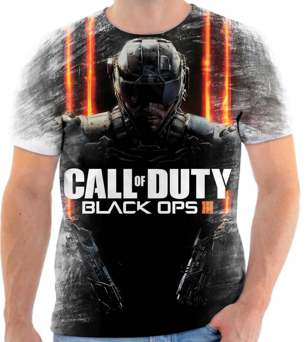 Camiseta Call Of Duty Black Ops no Elo7  fce7f8f7bb4c2