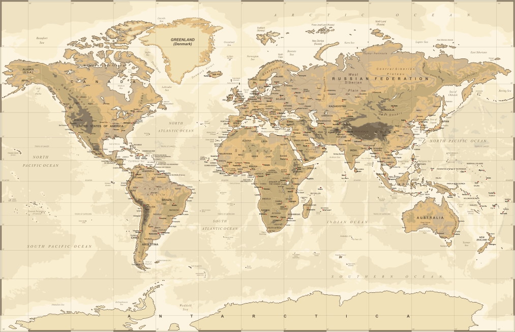 Mural mapa mundi adcorista a27dbb no elo7 adcorista a27dbb - Mural mapa mundi ...