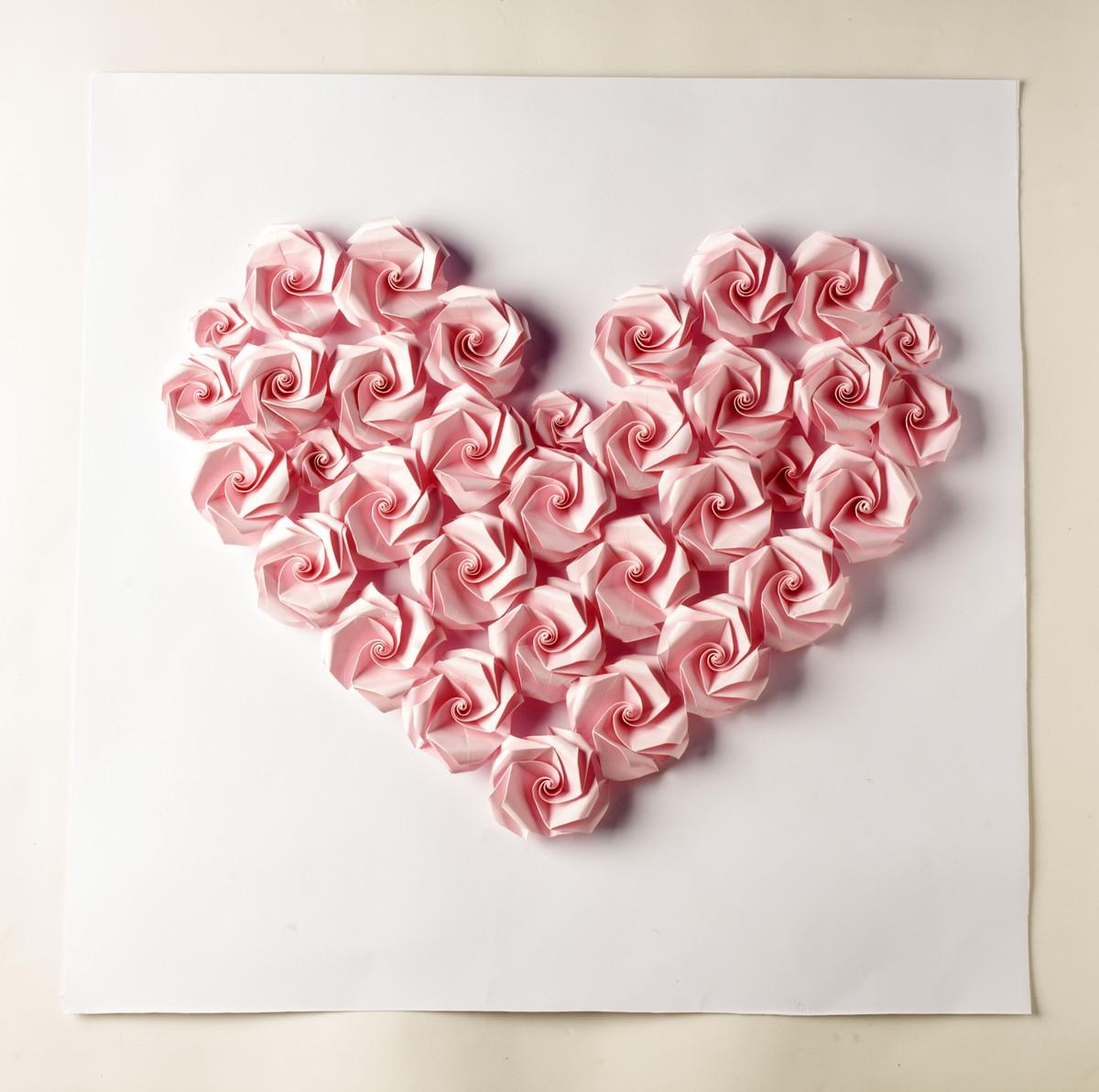 Rosas de amor - Painel de 50 x 50m no Elo7 | Cecile de Luz - Arte ...