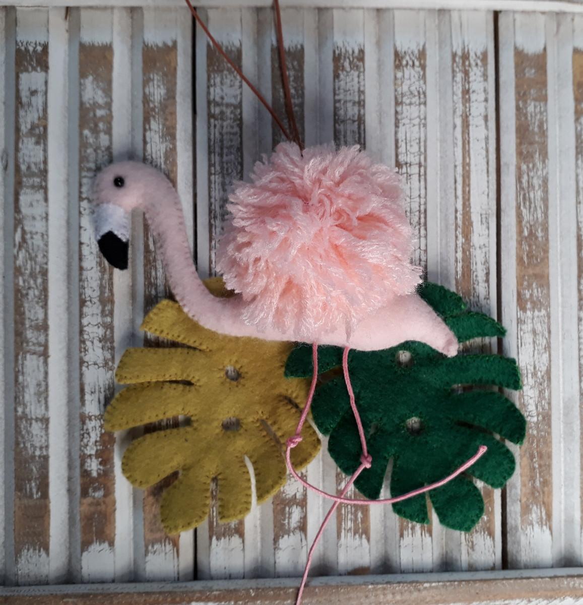 30f00ba02cb2c Chaveiro Flamingo no Elo7   Feito Por Mãe Daniela Caetano (A2D61B)
