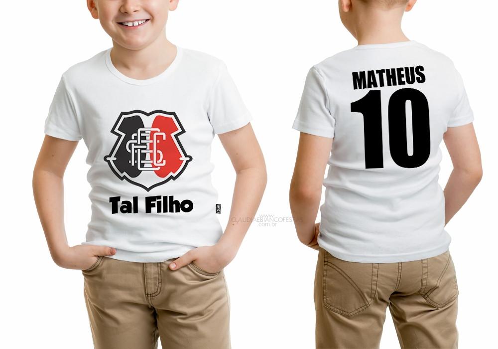 e9632ce5c7 Camisa Santa Cruz Tal Filho no Elo7