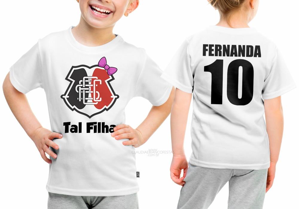 8331866fe5 Camisa Santa Cruz Tal Filha no Elo7