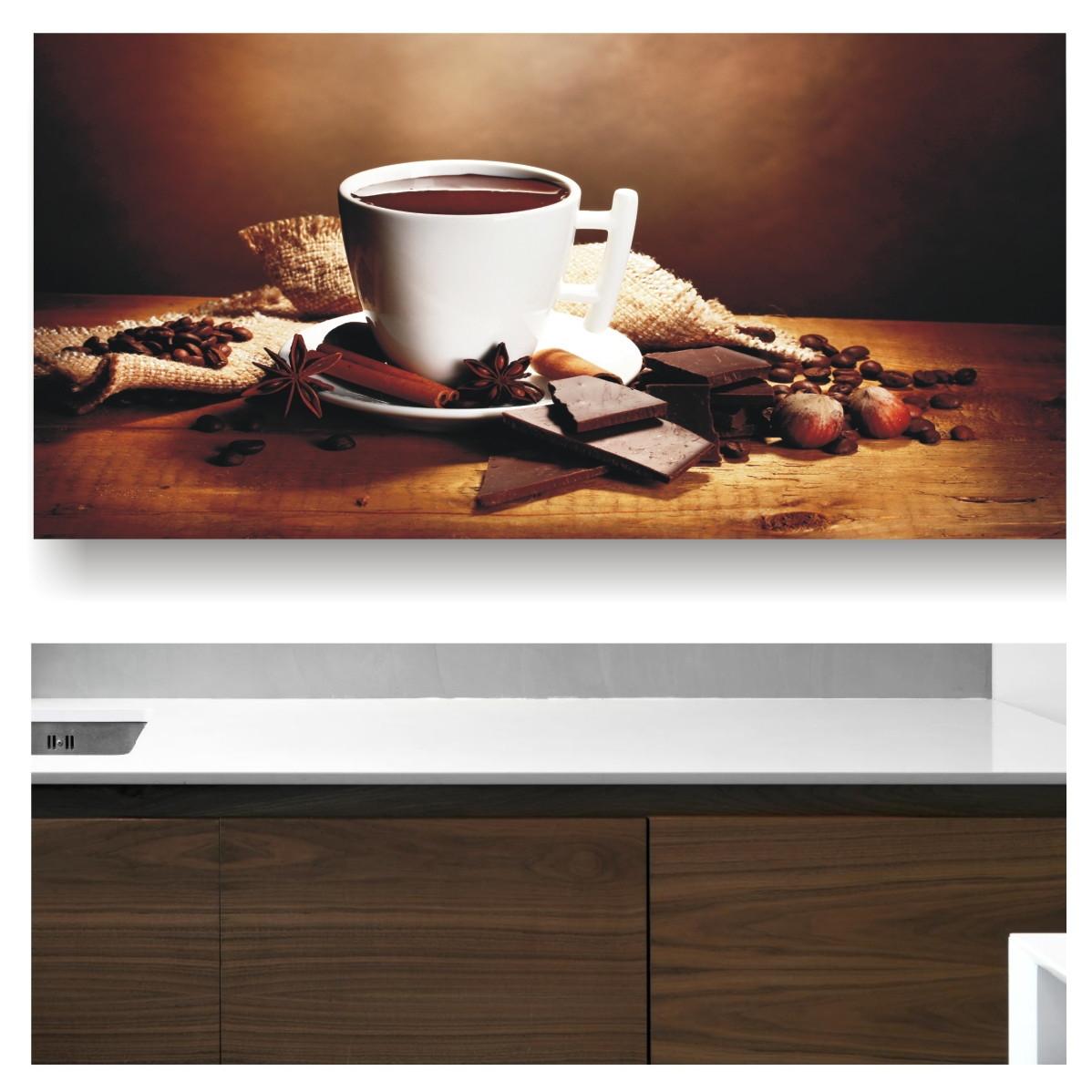 dffbca858 Papel de parede Cozinha Café Chá 78 no Elo7