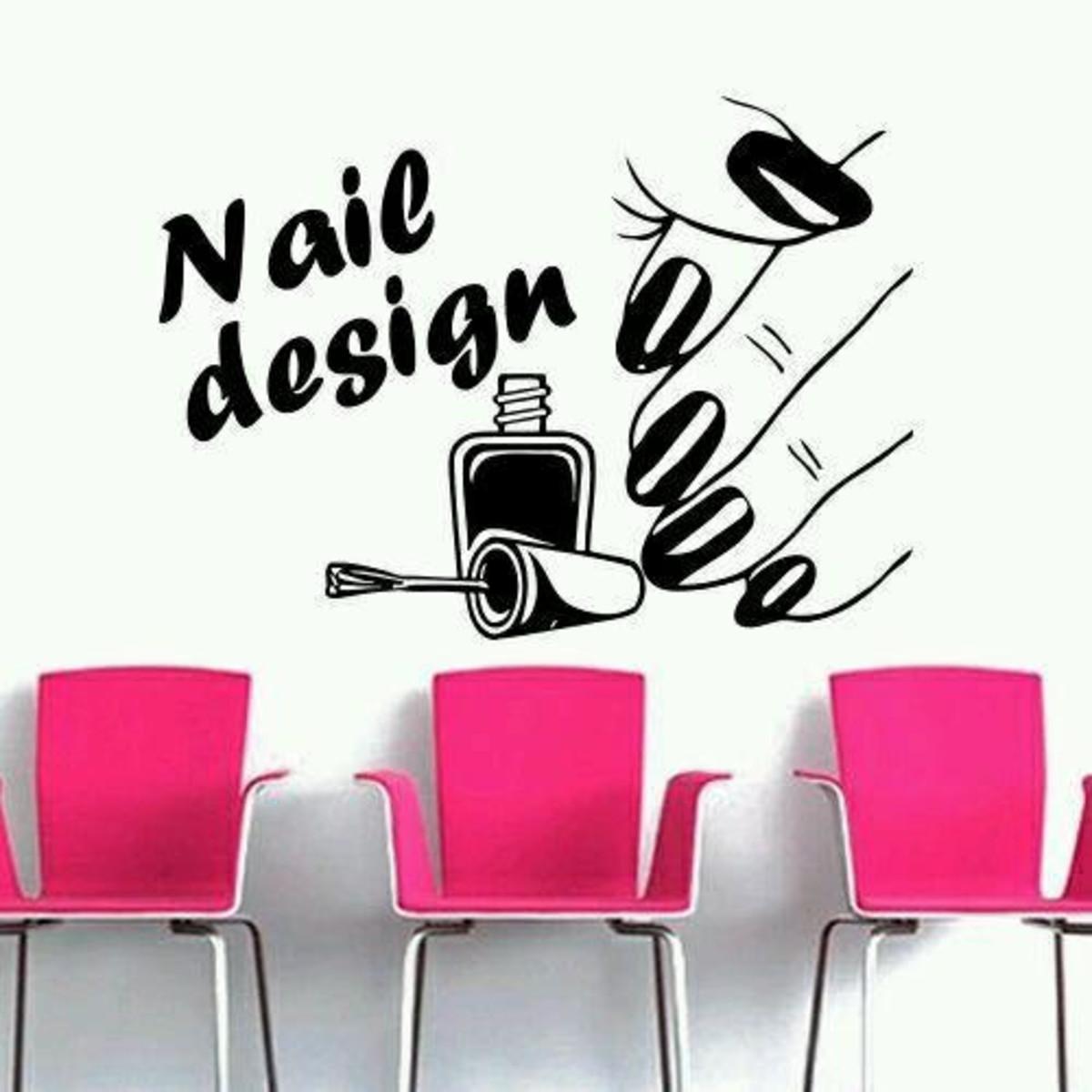 Adesivo Decorativo Manicure Nail Design no Elo7   Toca do ...