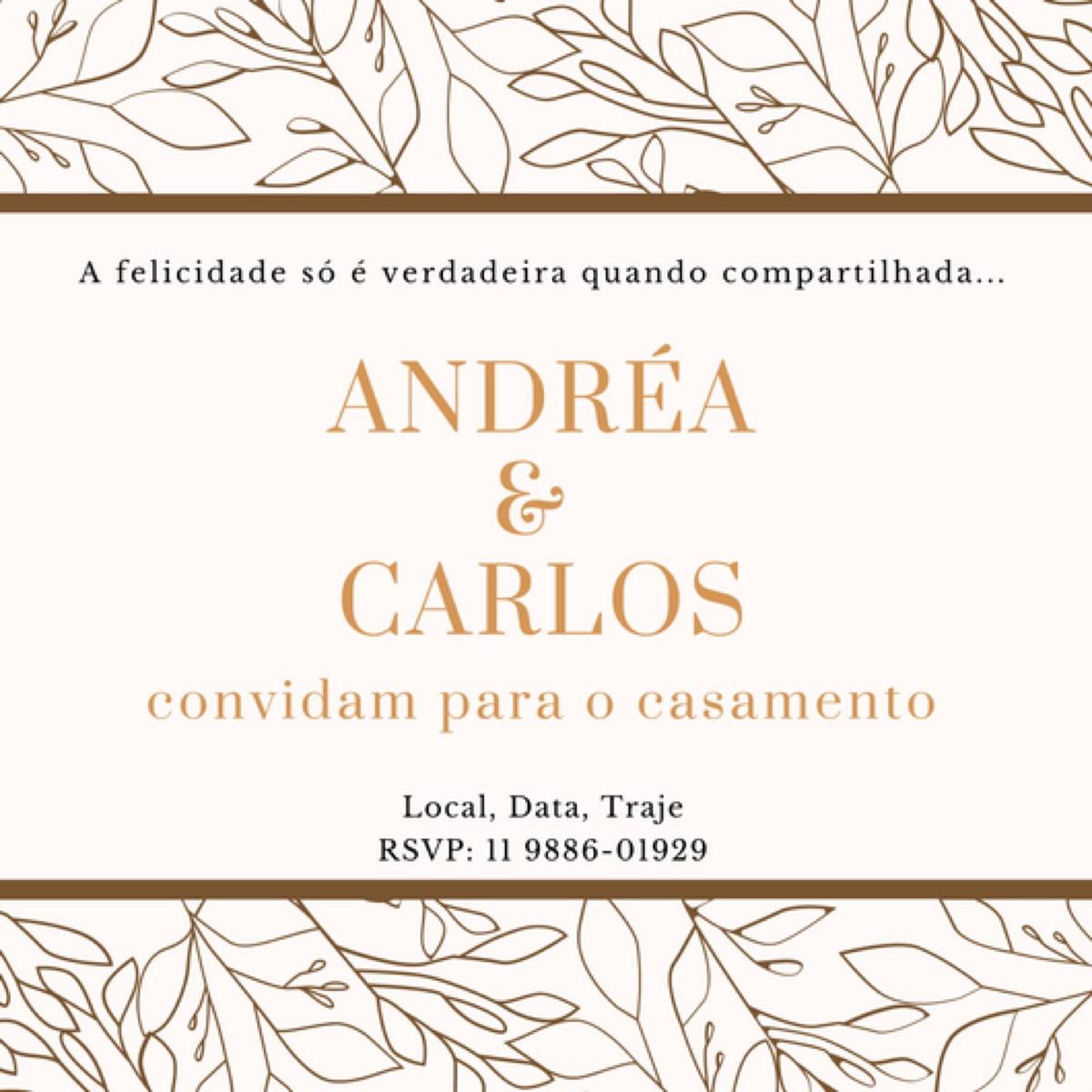 Convite Virtual Casamento No Elo7 Rosa Amarela Ateliê A34afb