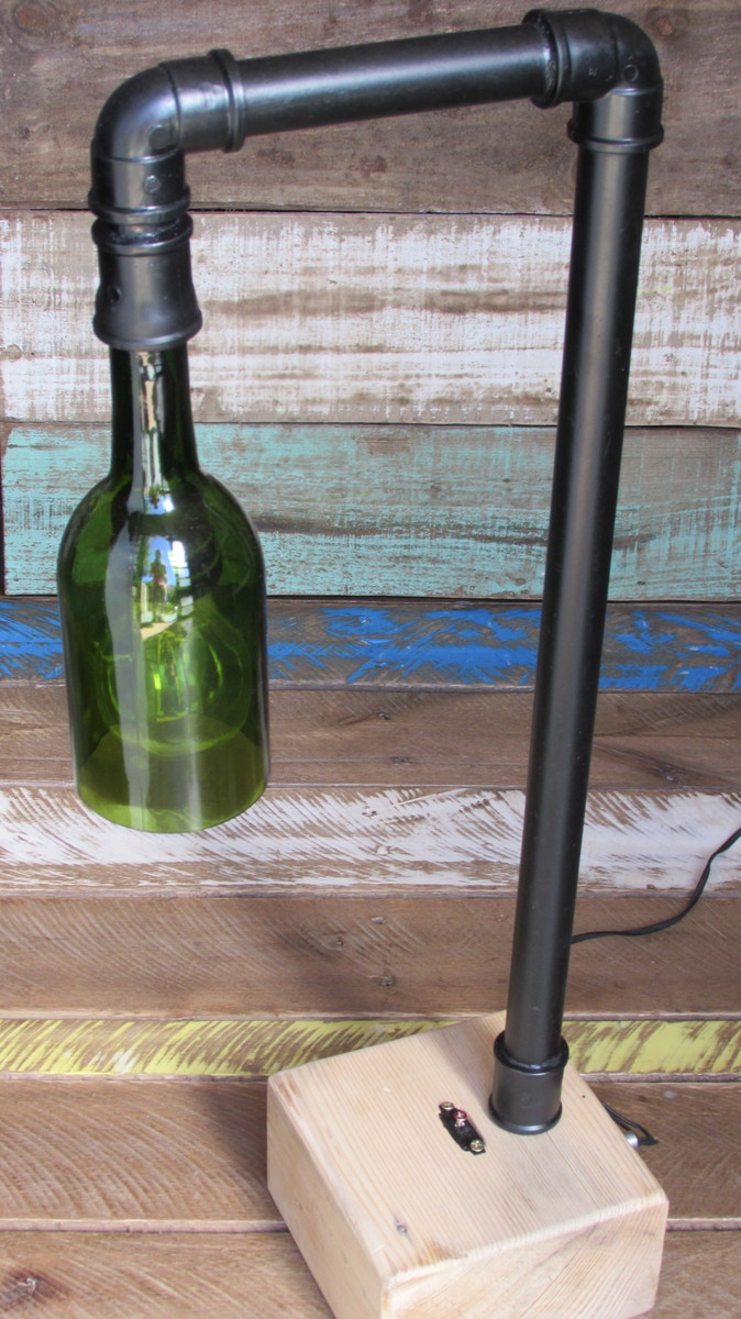 Abajur estilo industrial vintage no elo7 artcycle for Estilo industrial vintage