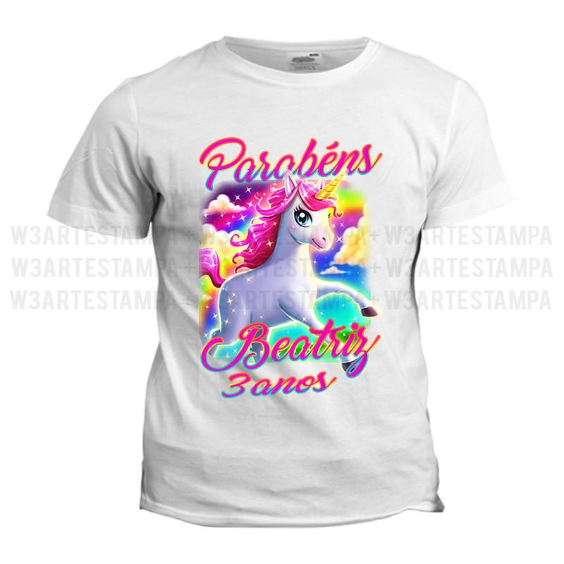 cc6172130b12b 1 camisa Unicórnio Kit Aniversario Blusa no Elo7