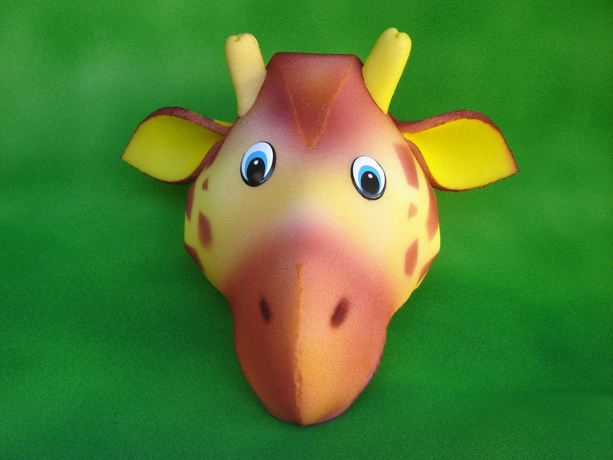 chapéu espuma girafa no Elo7  a1e8f77366d