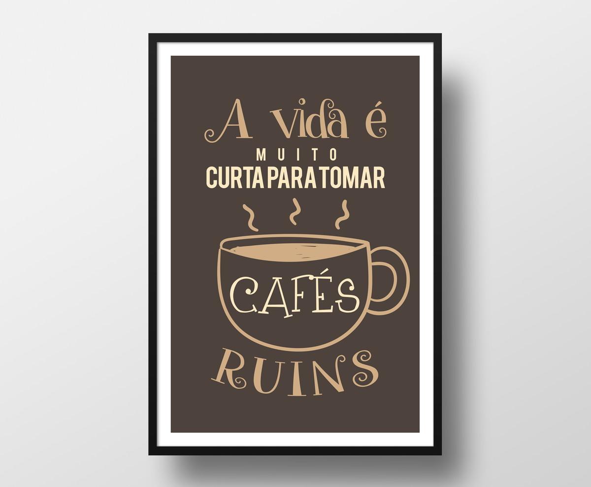 Extremamente Quadro frases - café - KEEP - Gentil - Moldura no Elo7 | PlinPlin  ME24