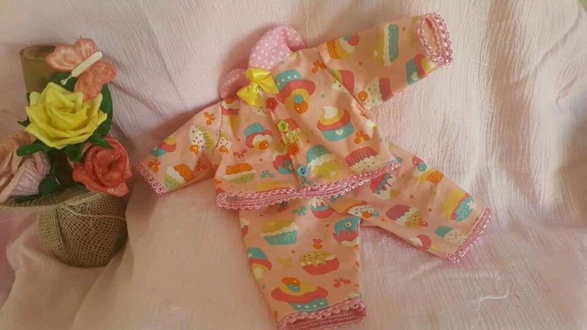 310bb3e80 Pijamas baby alive no Elo7