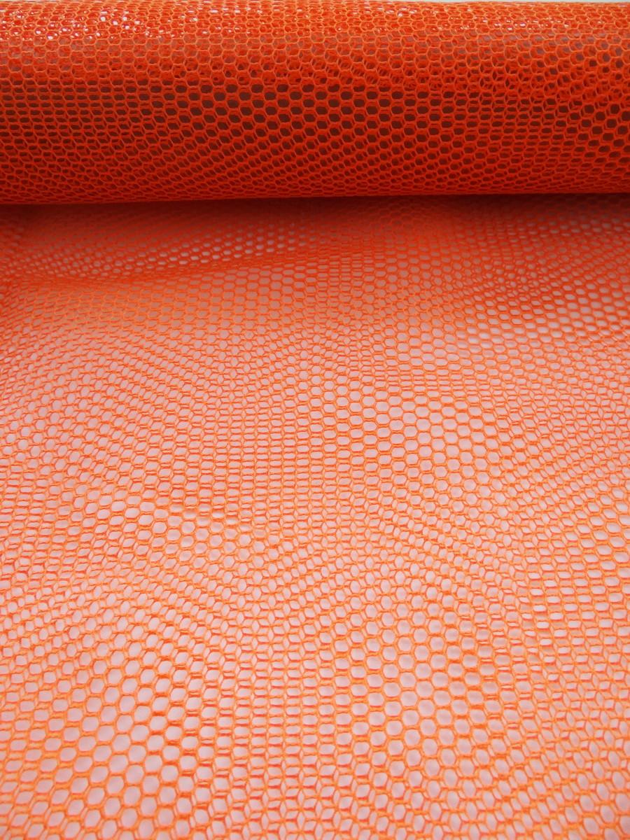 Telinha tipo volley laranja no Elo7  e87067bf8de