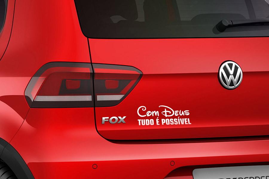 adesivo frase cristão evangélico para carros para brisa no elo7