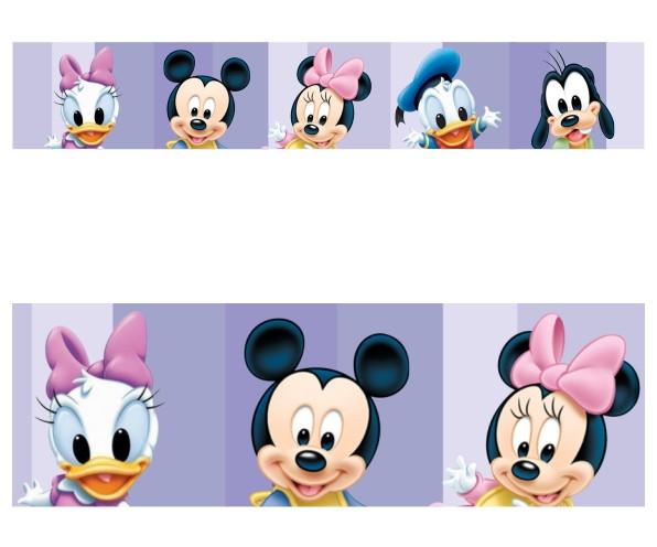 Adesivo Border Infantil Disney Turma Do Mickey Baby Mod030 No Elo7
