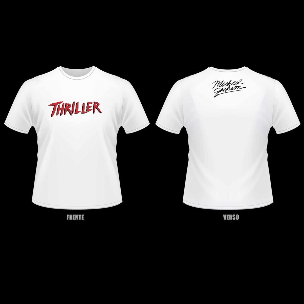 Camiseta Michael Jackson - Thriller no Elo7  8b251dfb10196