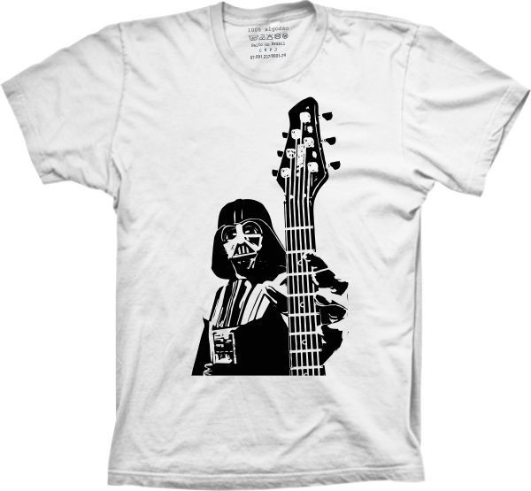 624dee538 camisa camiseta star wars darth vader guitar master no Elo7 ...