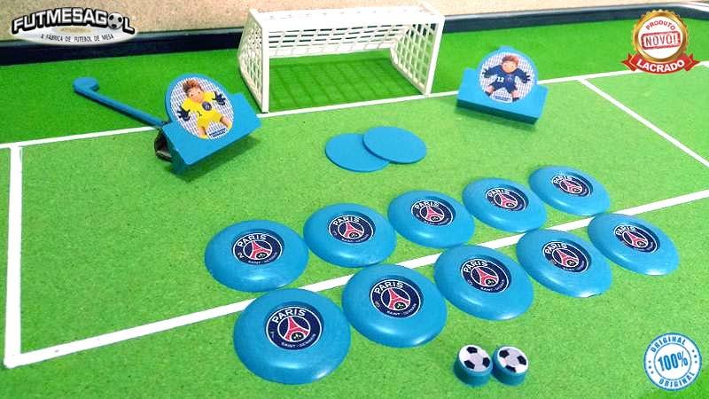 9948a5775c 2 Jogos   kits Futebol De Botão PSG x Manchester City no Elo7 ...