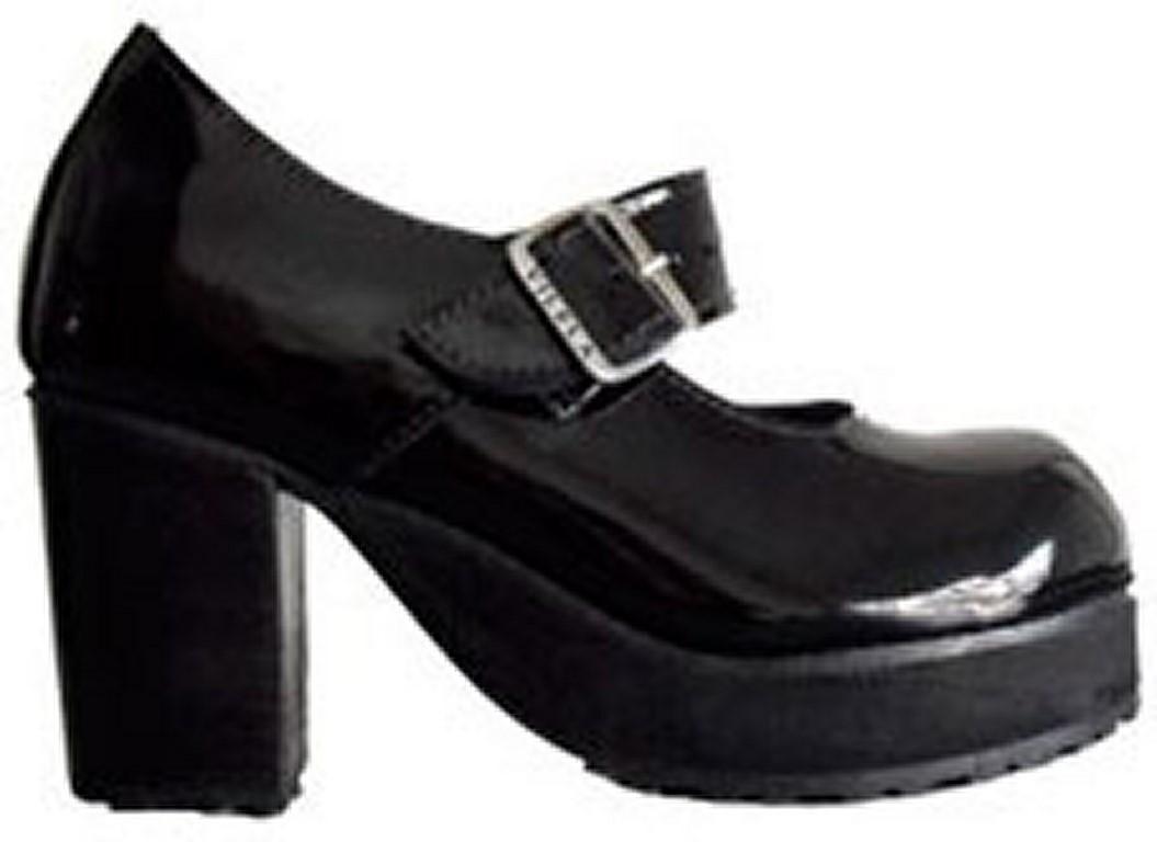 e0c6b0cb0 Sapato Boneca Salto Alto Envernizado Colorido Couro Ref172 no Elo7 ...